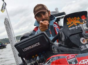 Mike Iaconelli with Lowrance SONAR