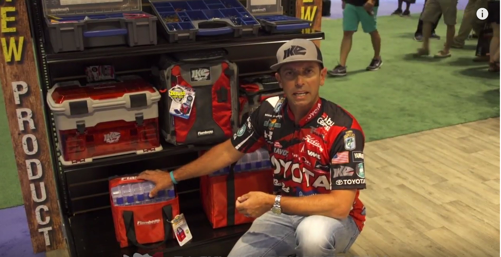 Mike Iaconelli & Flambeau