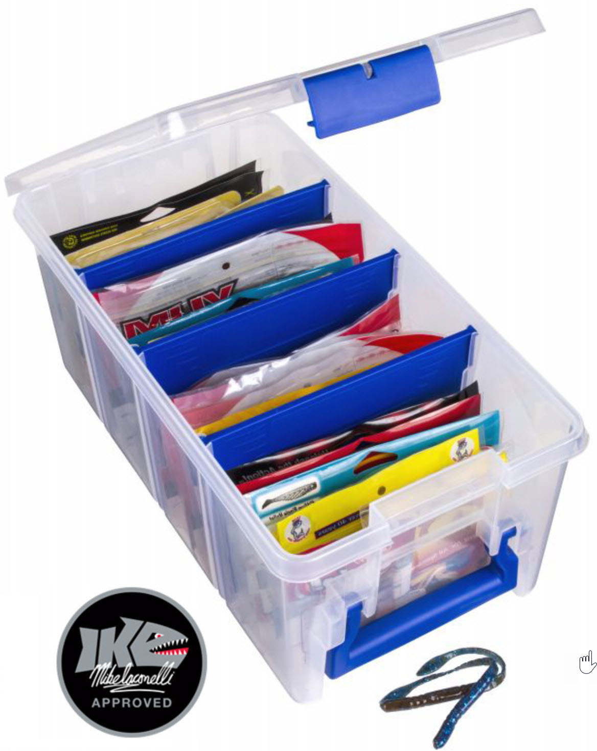 Super Half Satchel Soft Bait Organizer  sc 1 st  Ikeu0027s Fishing Blog - Mike Iaconelli & Flambeau Boxes Are My Pick for Tackle Storage u2013 Ikeu0027s Fishing Blog