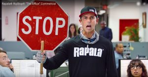 "Rapala RipStop Commercial, ""The Office"""