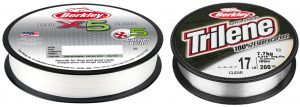 Berkley 5X Braided & Trilene 100% Fluorocarbon lines