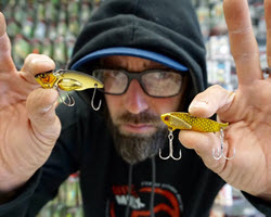Fishing Blade Baits Shallow