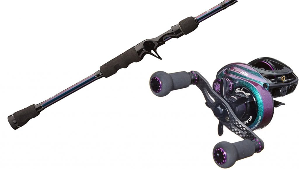 Abu Garcia Ike Power Series Casting Rod and Abu Garcia REVO IKE Casting Reel