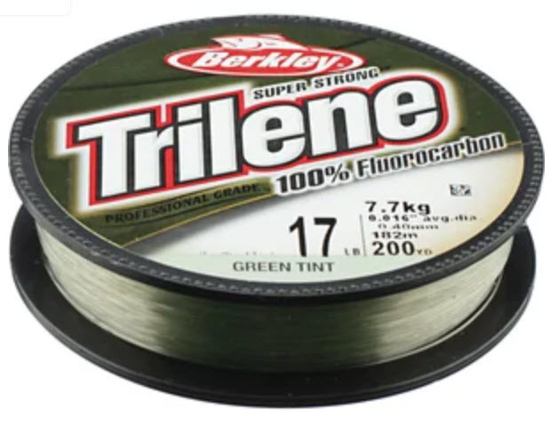 Berkley Trilene 100% Fluorocarbon Line, Green