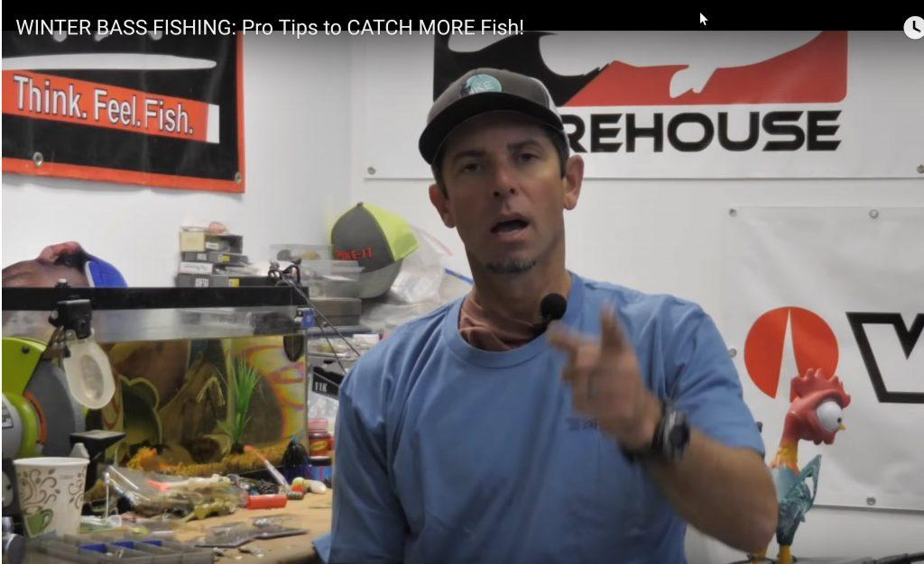 Winter Bass Fishing Tips