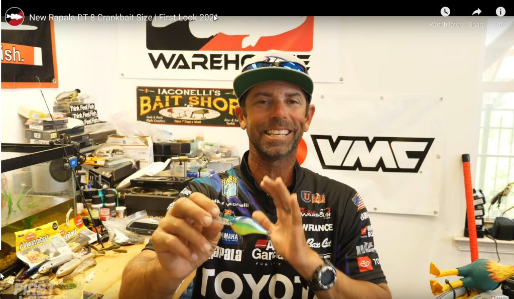 Hear all about the new Rapala DT8.