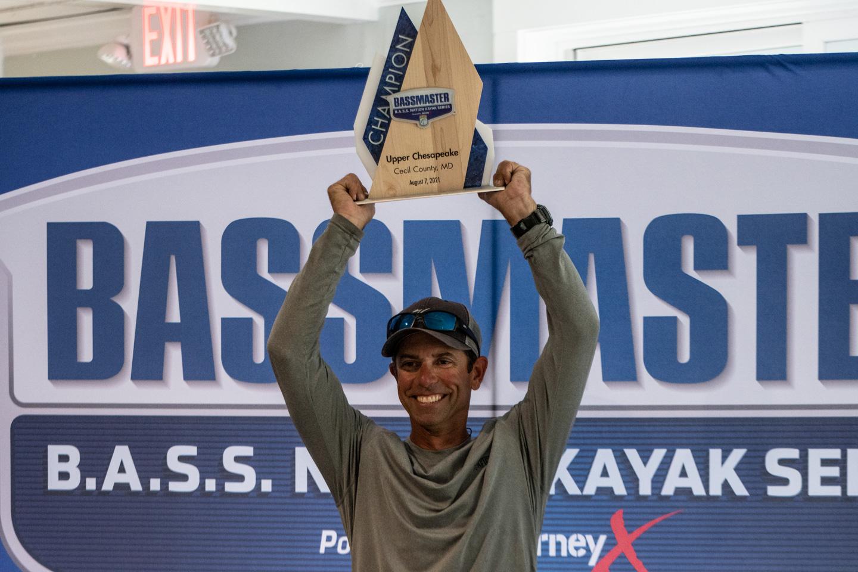 Mike Wins Kayak Tournament
