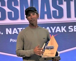 Ike's Big Kayak Win